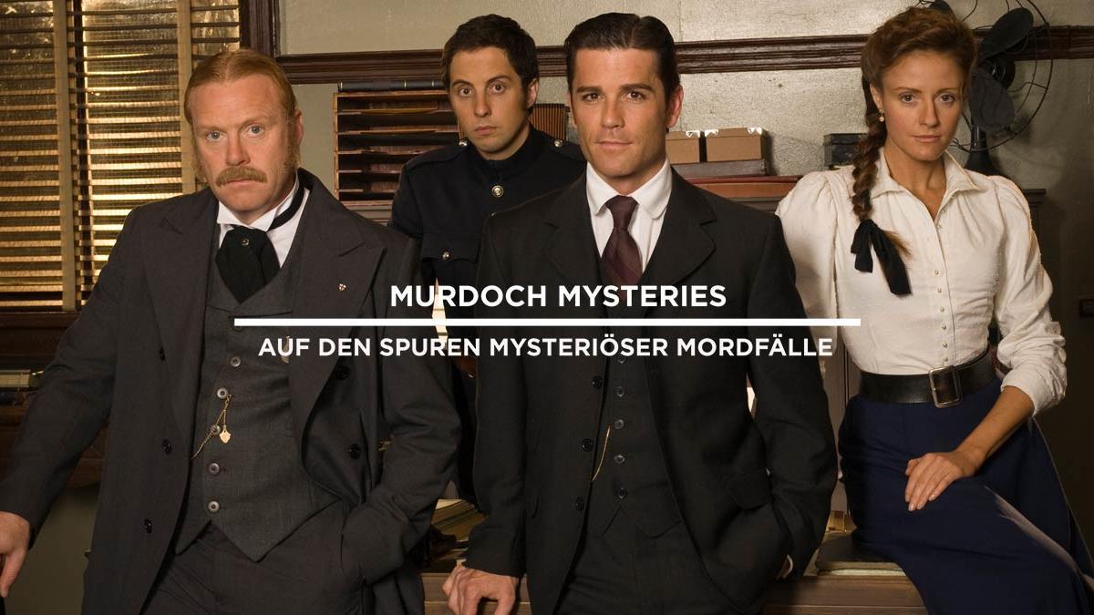Murdoch Mysteries SONY HANNEL